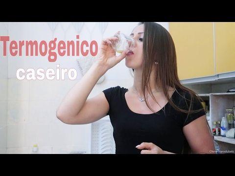 Como Fazer Termogenico Caseiro sem Cafeína - YouTube