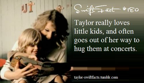 taylor swift facts aaaaaawwww me 2 I always stop stare and compliment the parents. I babysit all my little cousins when they are born and toddlers and stuff when parents are like having dinner or need 2 do something ik always like oh its fine don't worry I'll take care of them and they triste me
