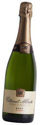 Crémant de Bourgogne Blanc Brut - Vitteaut-Alberti chez www.selection-bourgogne.com
