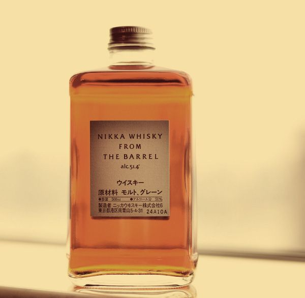 nikka whisky from the barrel vintage