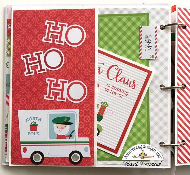 Holiday Mini Album by Traci Penrod | Doodlebug Design Inc Blog | Bloglovin'