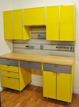 Yellow Garage. California ClosetsWorkshop ...