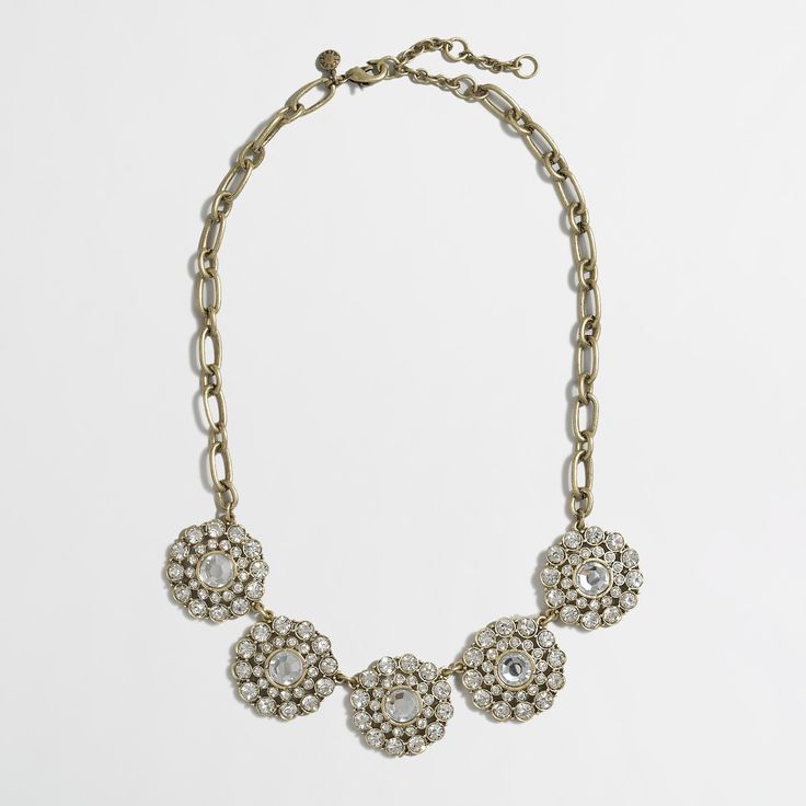 Layered circle necklace : Necklaces | J.Crew Factory