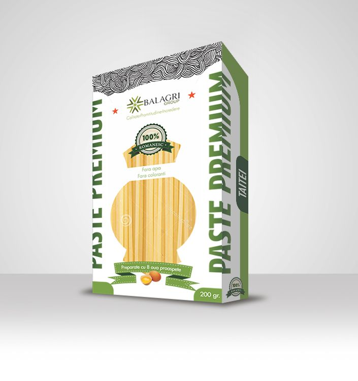 Pasta package design by Visual Edge