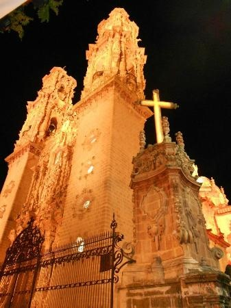 Santa Prisca Church in Taxco, Guerrero