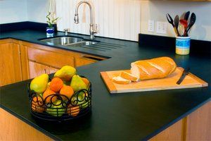 Green Kitchen Countertops: 3 Eco-Friendly Choices ( Recycled paper countertops, Reclaimed wood countertops& glass countertops)
