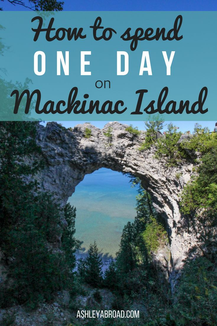 How to Spend One Day on Mackinac Island, Michigan. Visiting Mackinac Island is like stepping back to a time before cars and Facebook. There are plenty of things to do for fun on Mackinac Island including sampling the famous fudge, exploring by bike and ri