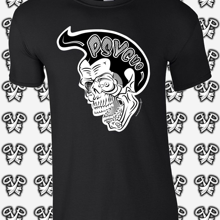 Ahoy Plunderers... For the whole of April get 15% off our Psycho Skull T-shirt or Vest. No coupon required.