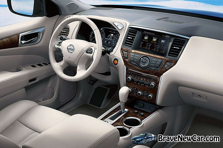 2015 Nissan Pathfinder dashboard
