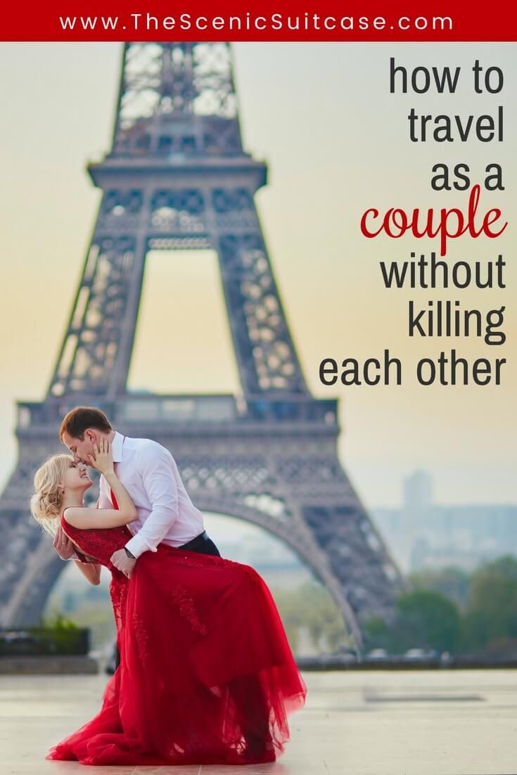 Discover 7 essential tips on how to travel as a couple without killing each other. These simple steps will ensure your dream vacation doesn't become a nightmare. And for more wanderlust inspiration and travel tips follow The Scenic Suitcase on Pinterest!