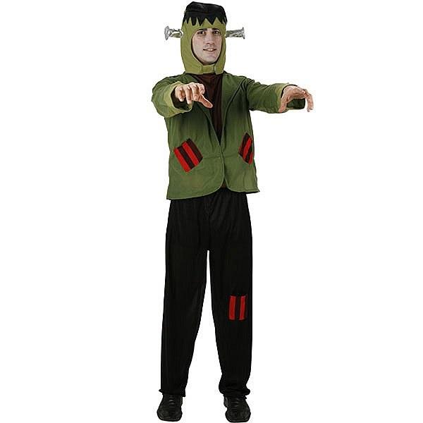 Disfraz de Monstruo Verde #miedo #terror #halloween #disfraces