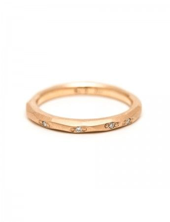 Faceted ring at e.g.etal