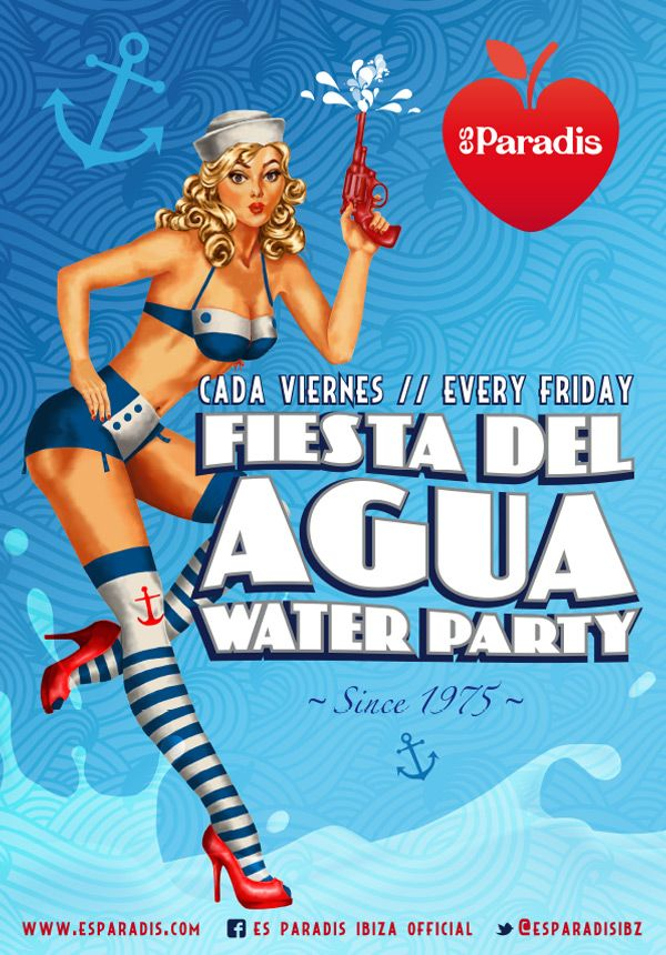 Es Paradis - WATER PARTY (Friday) 1