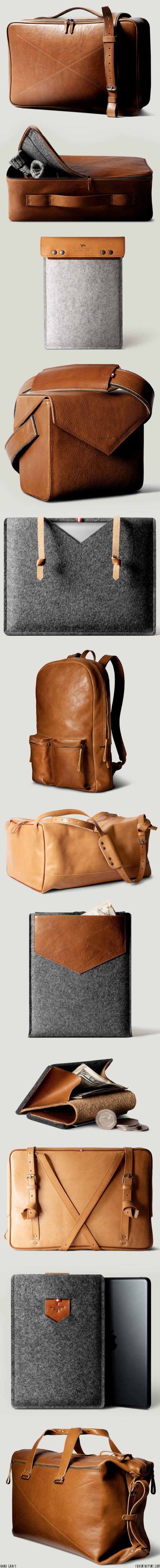Hard Graft leather and felt goods   //   FOXINTHEPINE.COM