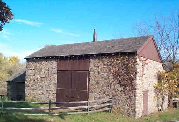 Bucks County barn