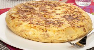 Receta de Tortilla de patatas o tortilla española