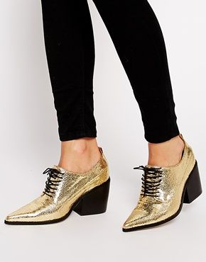 We're obsessed. They're a bit bling, a bit masculine, all fashion. From ASOS.
