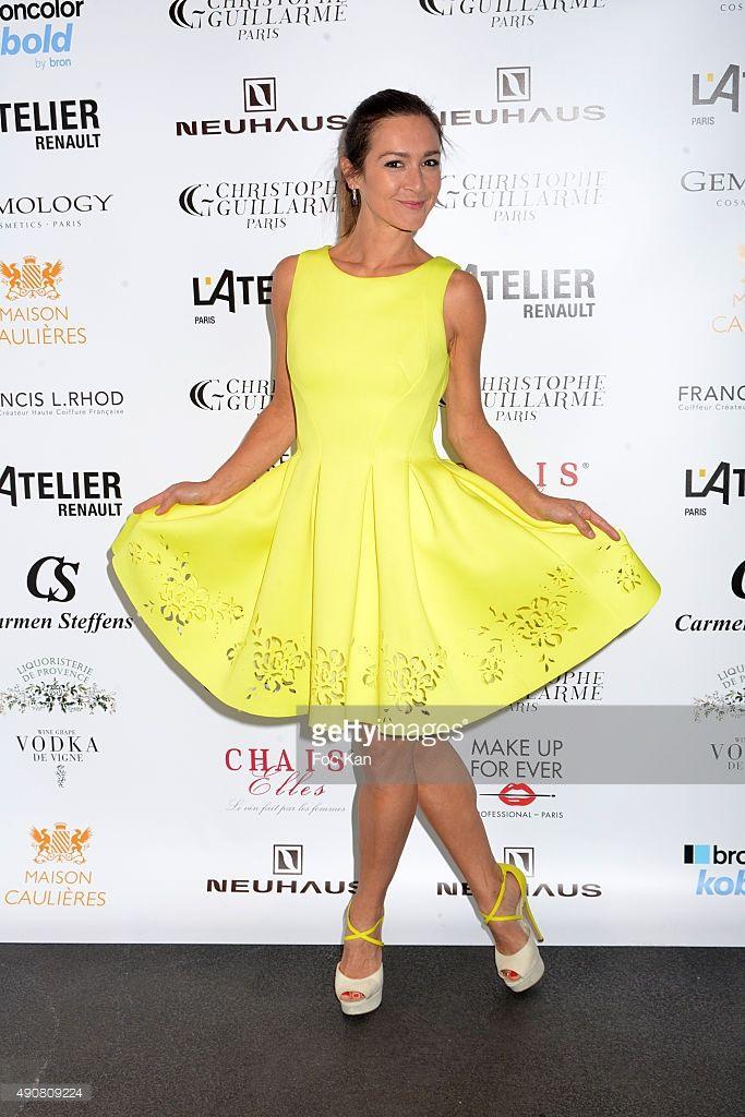 Photo d'actualité : Emmanuelle Boidron attends the Christophe...