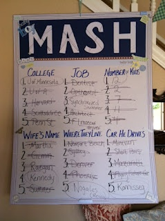 mash best baby shower game ever baby everett 39 s future is a crazy one