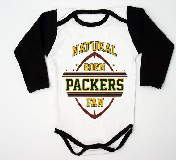 Custom Packers Bodysuit   Football Baby Shower   Green Bay  f54e40267