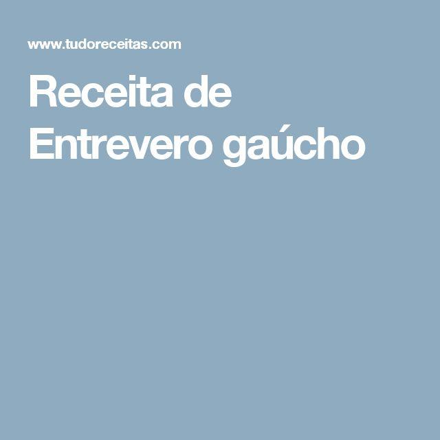 Receita de Entrevero gaúcho