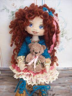 Trixidreams: Franciska textile doll