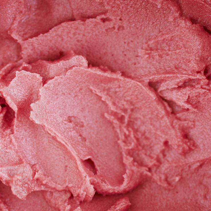 Fragrant rose hip and raspberry sorbet. Adding vibrant colour and fragrant flavour to Winterspring's Liquorice Rose Hip ice dessert.