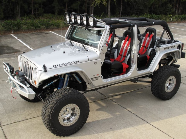 fun Rubicon with gadgets that Vici wants. I just wanna make sure it's a hardtop. That weather shit is for the birds.