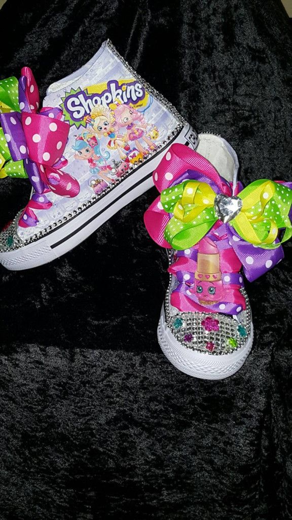 This listing is for a Limited edition SHOPKINS Lippy Lips Costume Hightop  inspired shoe. Let your child's imagination run wild with this colorful fun  shoe.