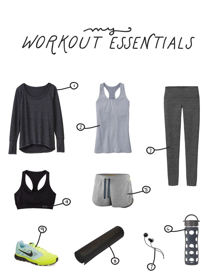 My Workout Essentials - The Fresh Exchange