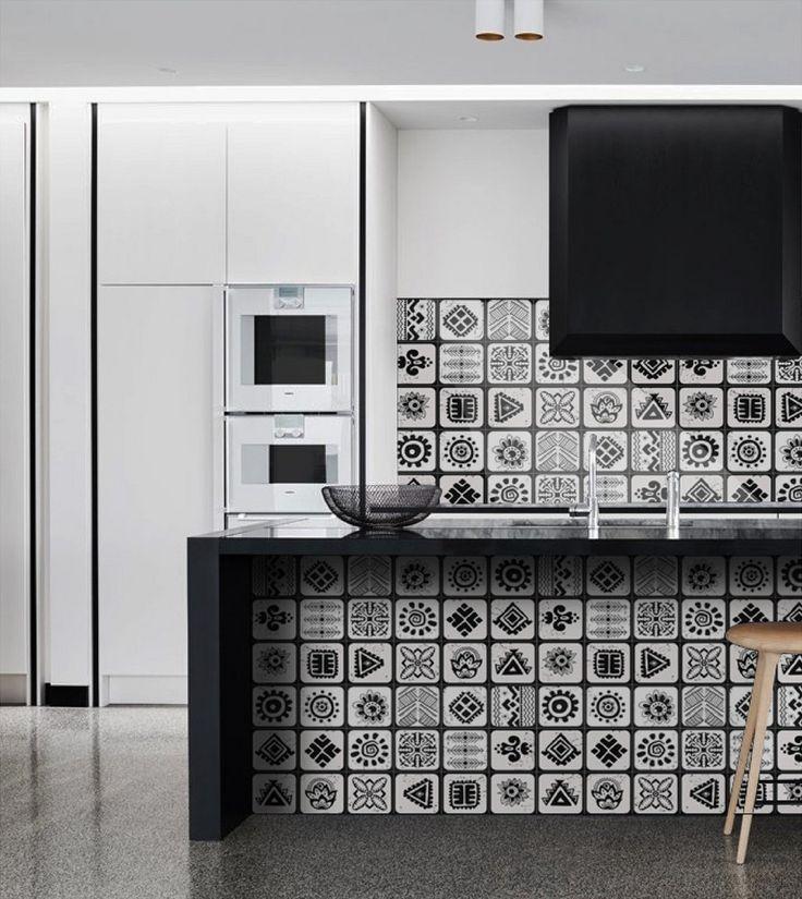 les 142 meilleures images du tableau carrelage mosaique de verre sur pinterest carrelage inox. Black Bedroom Furniture Sets. Home Design Ideas