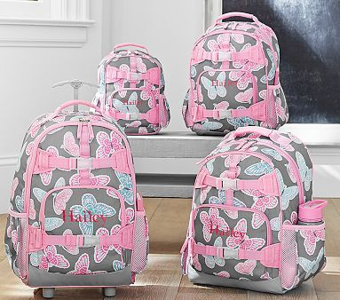 Mackenzie Gray Butterfly Backpacks