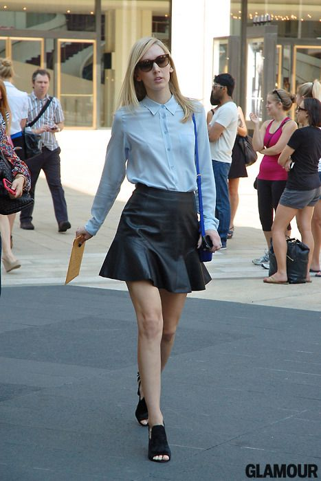 181 best Leather Skirts images on Pinterest