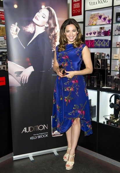 """""""I'm never on a diet or anything. As you can probably tell. As I get older, I'm getting curvier. I'm just embracing it really. I'm not trying to be a 20-year-old, size zero twiglet. I'm a 34-year-old woman."""" - Kelly Brook tells Express Online."""