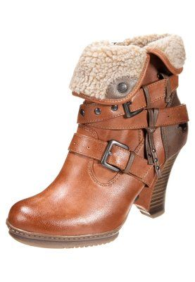 Mustang Cowboy/Biker boots - cognac for with free delivery at Zalando