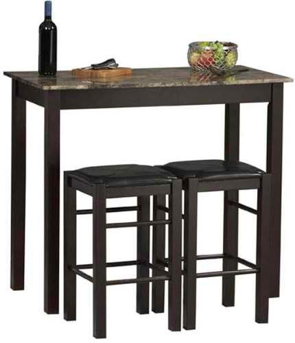Square bar stools. Cool.
