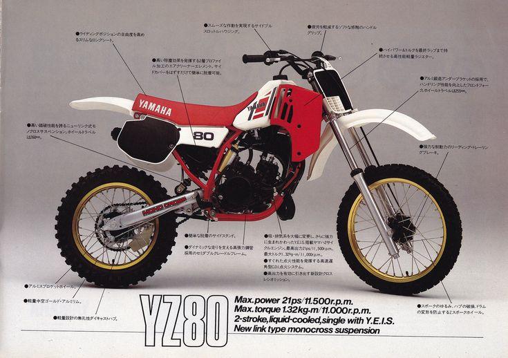 1984 Yamaha Yz125