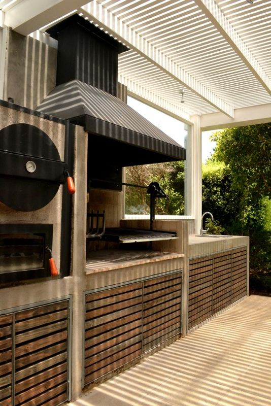 1000 images about summer outdoor kitchens grills and - Barbacoas rusticas de obra ...