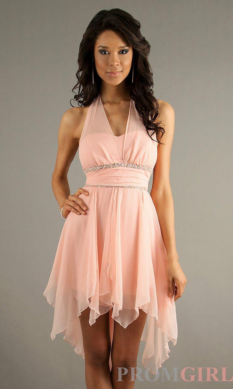 9 best bridesmaid dresses images on pinterest bridesmade dresses possible jr bridesmaids dress high low halter dresses la glo pink short prom ombrellifo Images