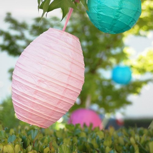 Oval Paper Lantern by Beau-coup