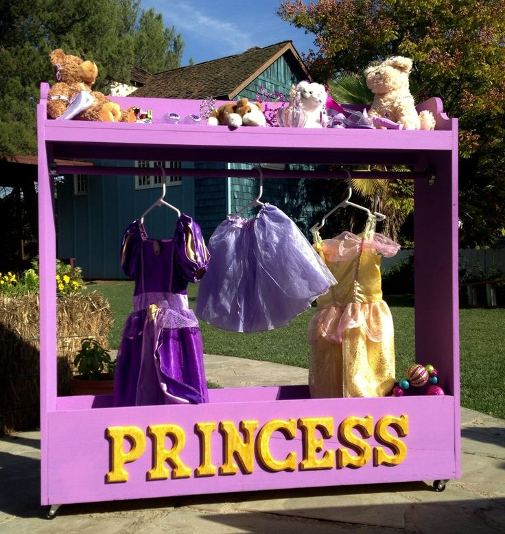 Ana White | Build a Dress Up Center - No Cutting Required! | Free and Easy DIY Project and Furniture Plans