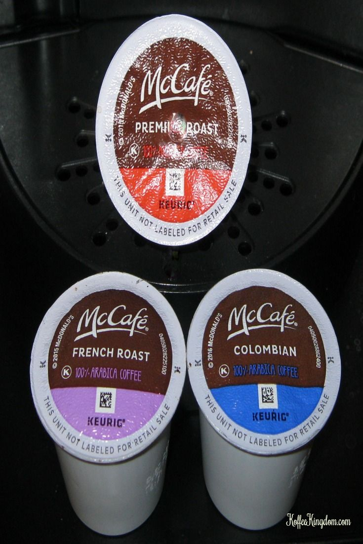 McCafe Coffee K-Cup Blends