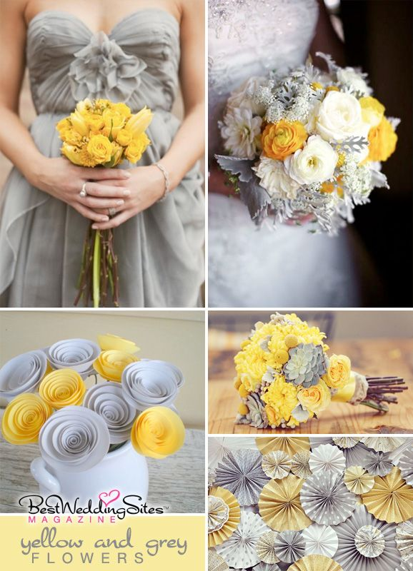 16 best yellow event decor images on pinterest yellow yellow wedding inspiration yellow grey flowers freshly cut from gardens paper best wedding sites wedding planning directory and guide for weddings mightylinksfo