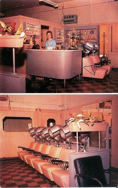 29 best images about 1950 39 s beauty parlor on pinterest for 1950 beauty salon