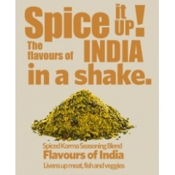 Simon Gault's very own special selection of herbs and spices to bring you the exotic flavours of India in a shake!  This amazing seasoning has to be tasted to be believed!     Simon's Indian seasoning brings a unique spicy and not too hot flavour to traditional favourites like lamb, steak, seafood, veges and turns them into sumptuous experiences.    Add it to burger mince, meatballs, bolognese, breads, roast veges for a result that's a unique taste of New Zealand.Price per 60g shaker…