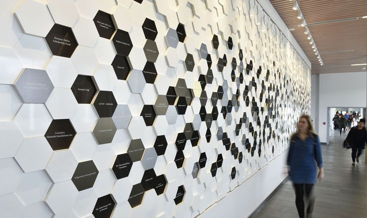 Project Feature: Humber College Donor Wall | Entro Communications