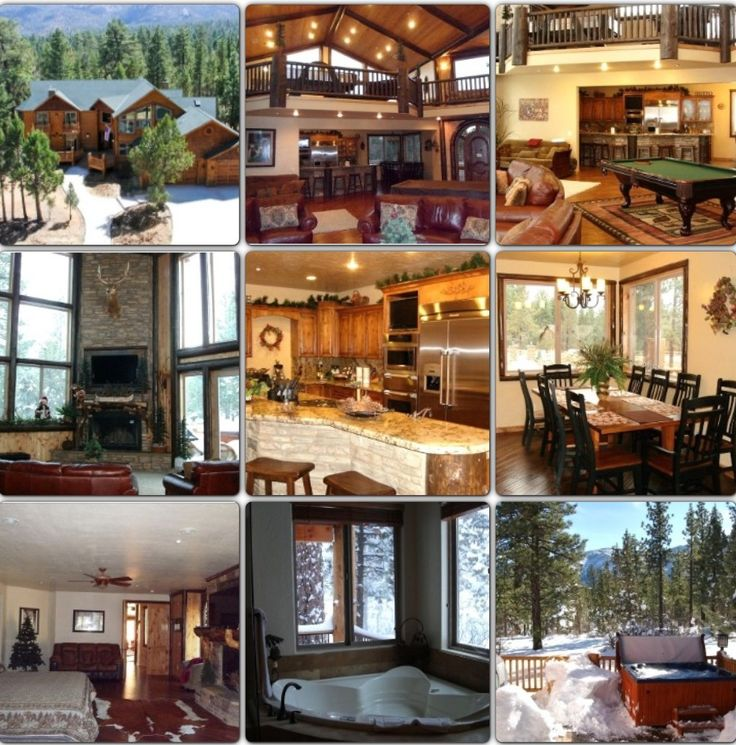 Big Bear Cabin Eerily Close To What I Want Only I Want Mine In