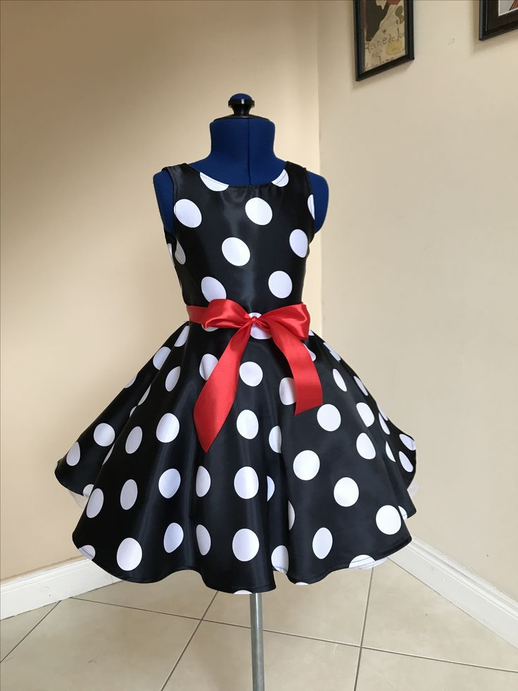 Polka dot dress ,kids dress ,children's fashion,children's clothes
