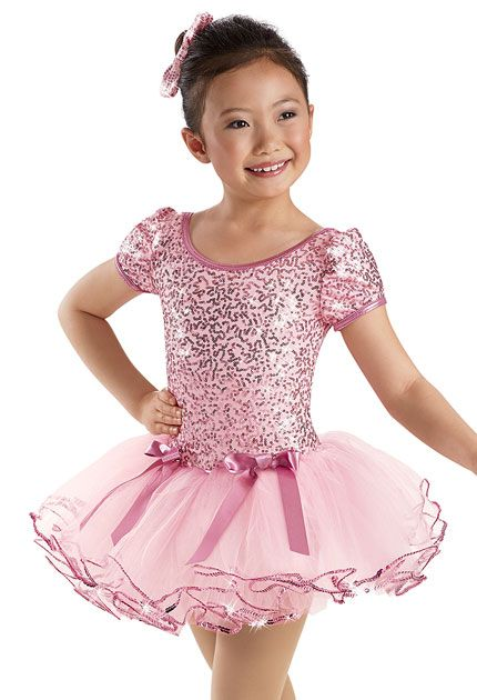 Sequin Puff Sleeve Tulle Dress -Weissman Costumes