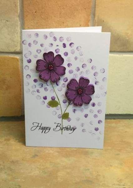 Geburtstagskarten fur frauen selber basteln